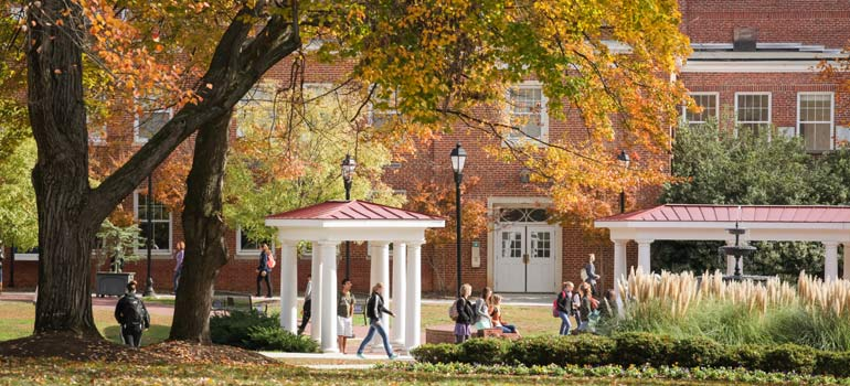 Longwood in the Fall